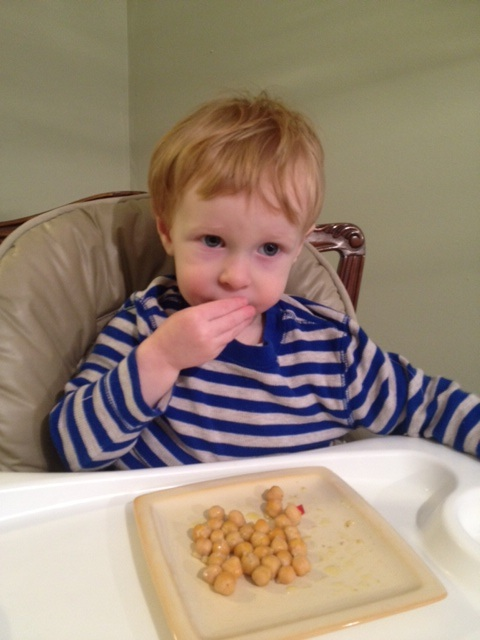 Roasted Garbanzo Beans: Healthy Kid Friendly Snack